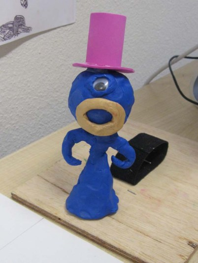 Stop Motion character - KNowle West Media Centre 2012