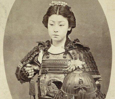 female samurai