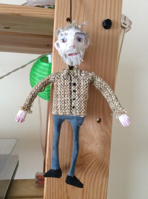 Dad puppet
