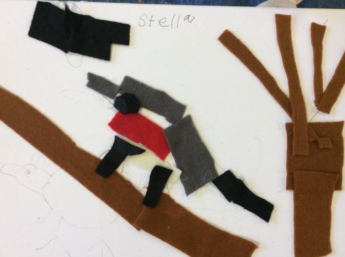 A robin by Stella