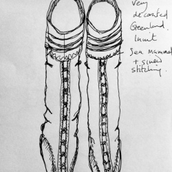 Sealskin boots
