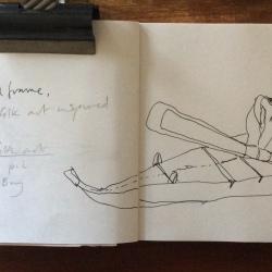 Sealskin toy kayak